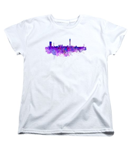 Johannesburg Skyline Women's T-Shirt (Standard Fit)
