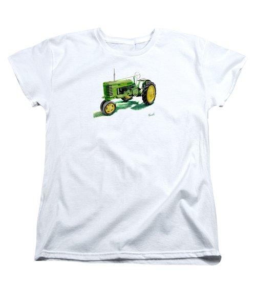 John Deere Tractor Women's T-Shirt (Standard Cut) by Ferrel Cordle