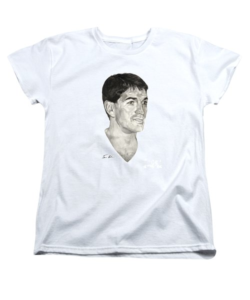 John Stockton Women's T-Shirt (Standard Cut) by Tamir Barkan