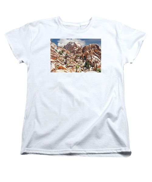 Joshua Tree National Park - Natural Monument Women's T-Shirt (Standard Cut) by Glenn McCarthy Art and Photography