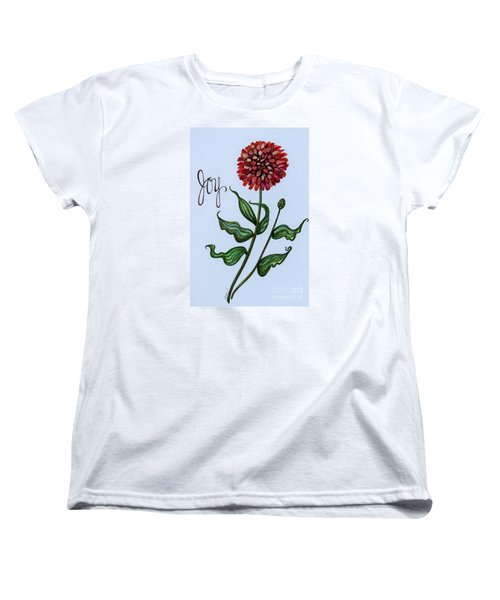 Women's T-Shirt (Standard Cut) featuring the painting Joy by Elizabeth Robinette Tyndall