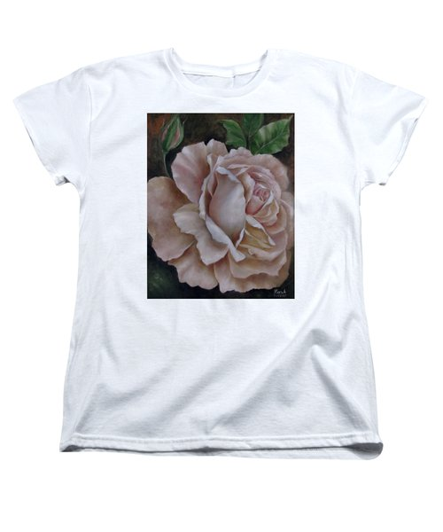 Just A Rose Women's T-Shirt (Standard Cut) by Katia Aho