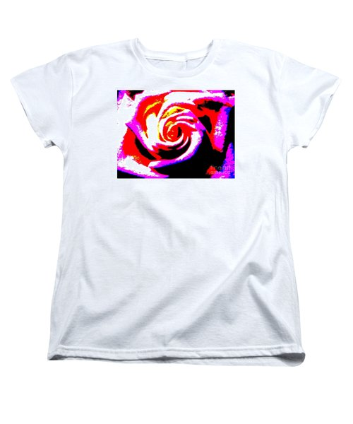 Just A Rose Women's T-Shirt (Standard Cut) by Tim Townsend