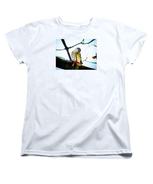 Just Curious Women's T-Shirt (Standard Cut) by Zinvolle Art