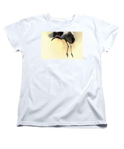 Just Dropping In Women's T-Shirt (Standard Cut) by Cyndy Doty