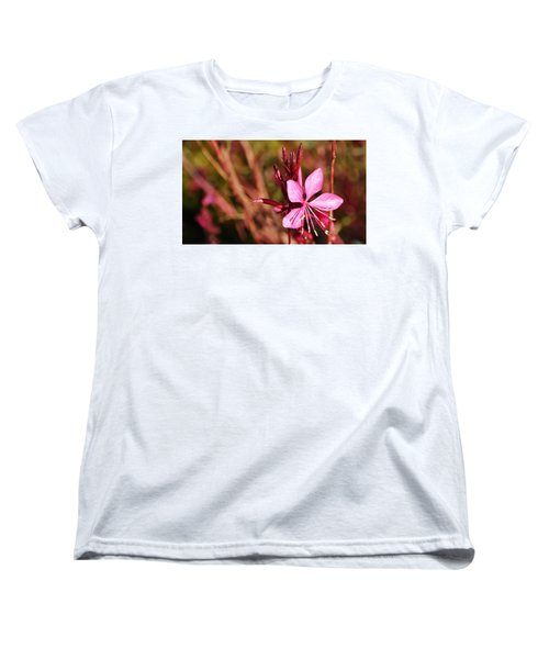 Just In Pink Women's T-Shirt (Standard Cut) by Werner Lehmann