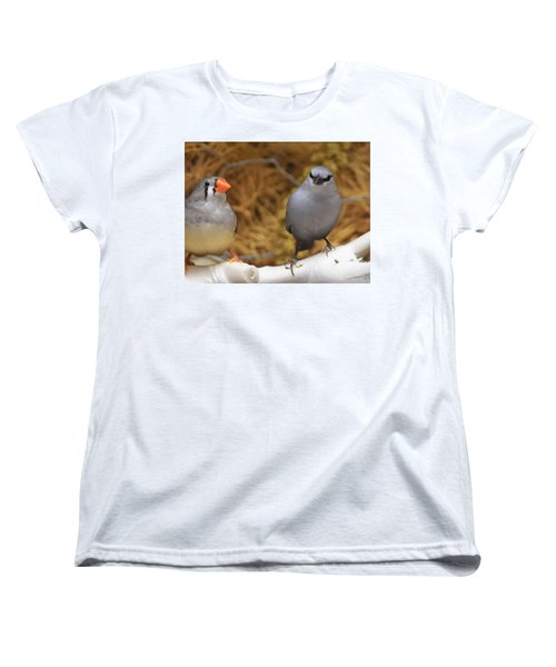 Just Passing The Time Women's T-Shirt (Standard Cut) by John Glass