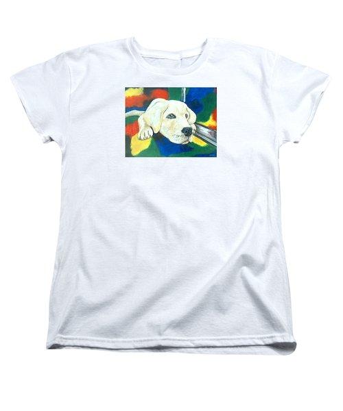 Just Waiting Women's T-Shirt (Standard Cut) by Jenny Pickens