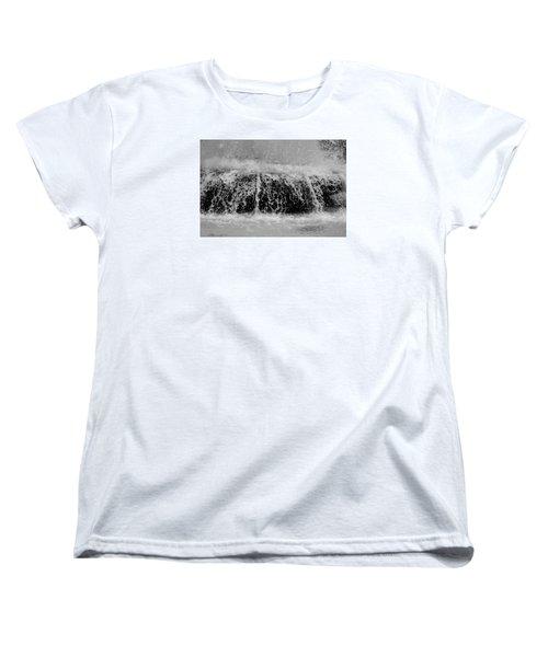 Women's T-Shirt (Standard Cut) featuring the photograph Just Water by Dorin Adrian Berbier