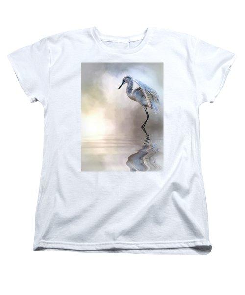 Juvenile Heron Women's T-Shirt (Standard Cut) by Cyndy Doty
