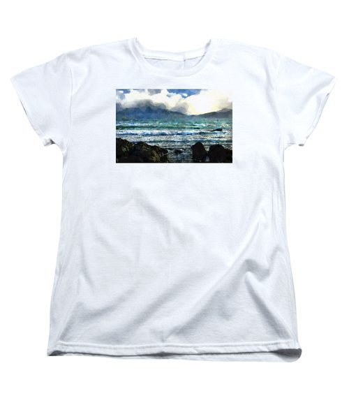 Kaikoura Seascape Women's T-Shirt (Standard Cut) by Kai Saarto