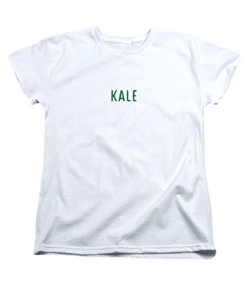Kale Women's T-Shirt (Standard Cut) by Cortney Herron