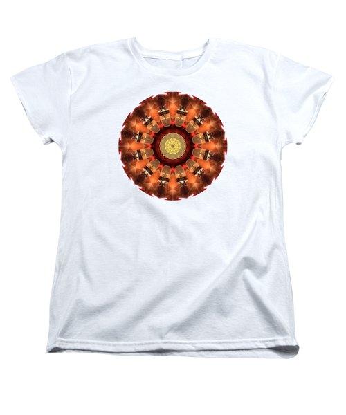 Women's T-Shirt (Standard Cut) featuring the photograph Kaleidos - Babalou01 by Jack Torcello