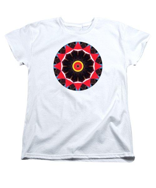 Women's T-Shirt (Standard Cut) featuring the photograph Kaleidos - Babalou02 by Jack Torcello