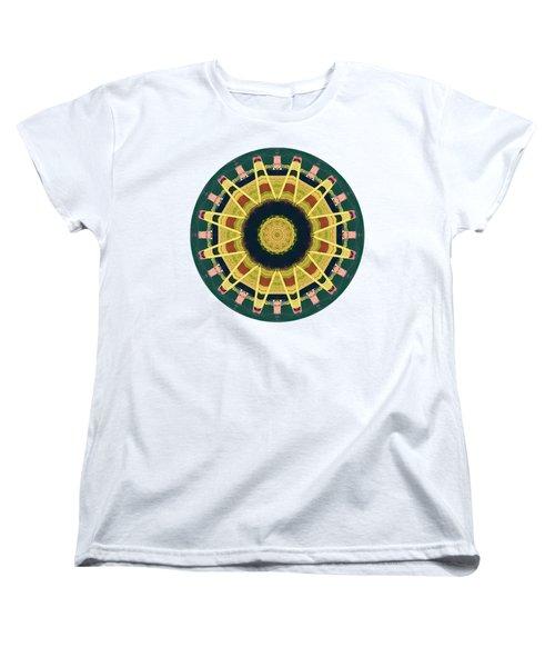 Women's T-Shirt (Standard Cut) featuring the photograph Kaleidos - Grindavik01 by Jack Torcello