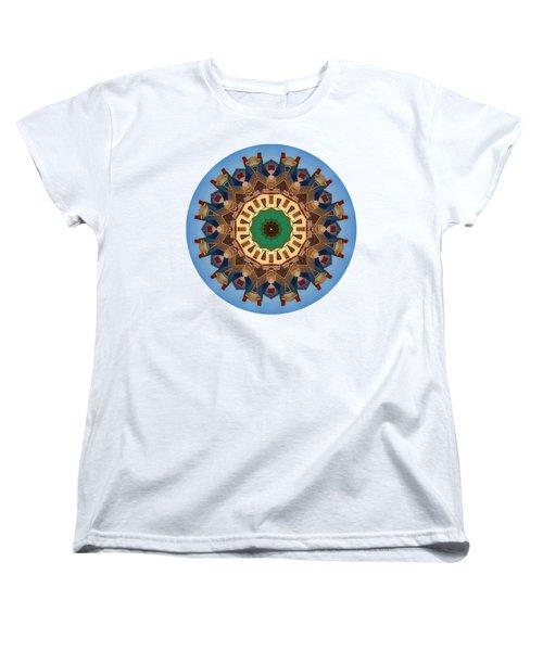 Women's T-Shirt (Standard Cut) featuring the photograph Kaleidos - Nantucket01 by Jack Torcello