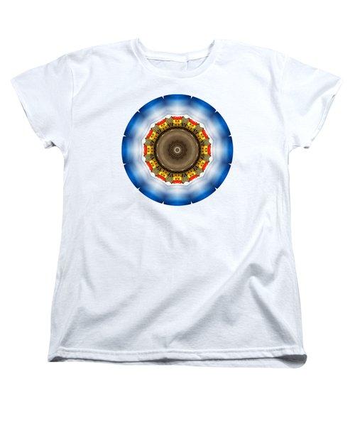 Women's T-Shirt (Standard Cut) featuring the photograph Kaleidos - Reykjavik01 by Jack Torcello