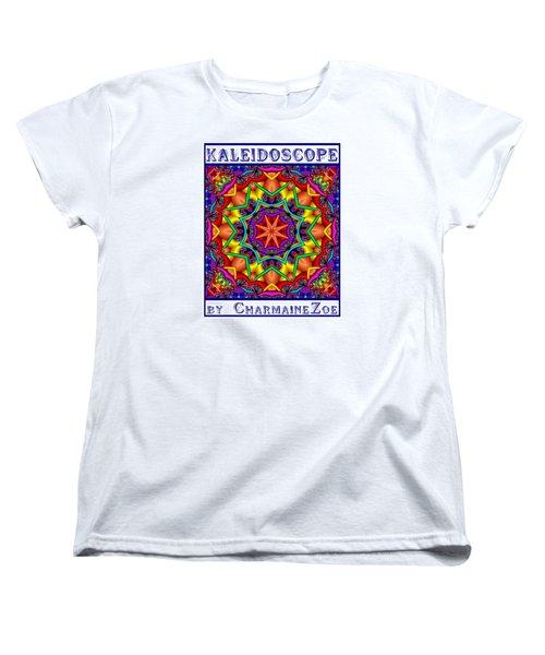 Kaleidoscope 2 Women's T-Shirt (Standard Cut) by Charmaine Zoe