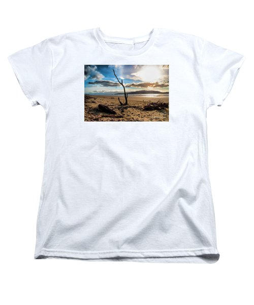 Kapiti Sunset Women's T-Shirt (Standard Cut) by Karen Lewis