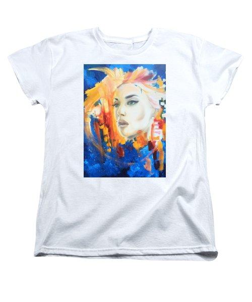 Kate Winslet Women's T-Shirt (Standard Cut) by Matt Burke