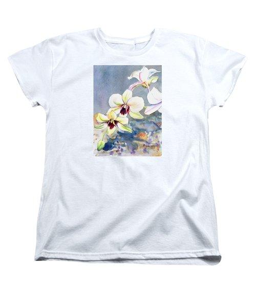 Kauai Orchid Festival Women's T-Shirt (Standard Cut)