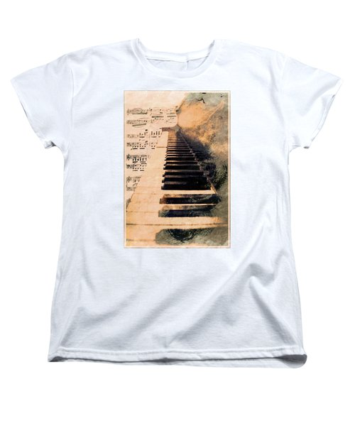 Women's T-Shirt (Standard Cut) featuring the photograph Keys To Greatness  by Aaron Berg