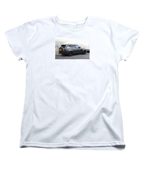 Khan Range Rover Women's T-Shirt (Standard Cut) by Roger Lighterness