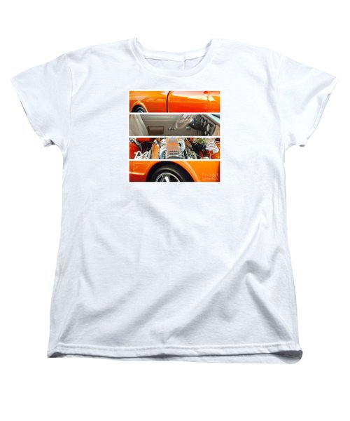 Women's T-Shirt (Standard Cut) featuring the photograph Killeen Texas Car Show - No.2 by Joe Finney