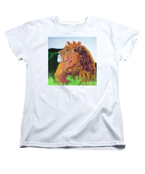 King Of Hearts Women's T-Shirt (Standard Cut) by Donald J Ryker III