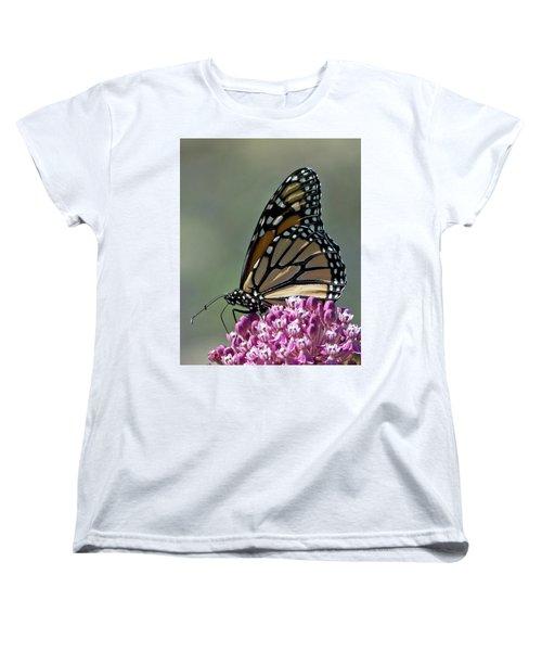 King Of The Butterflies Women's T-Shirt (Standard Cut) by Stephen Flint