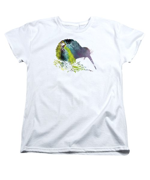 Kiwi Bird Women's T-Shirt (Standard Cut) by Mordax Furittus
