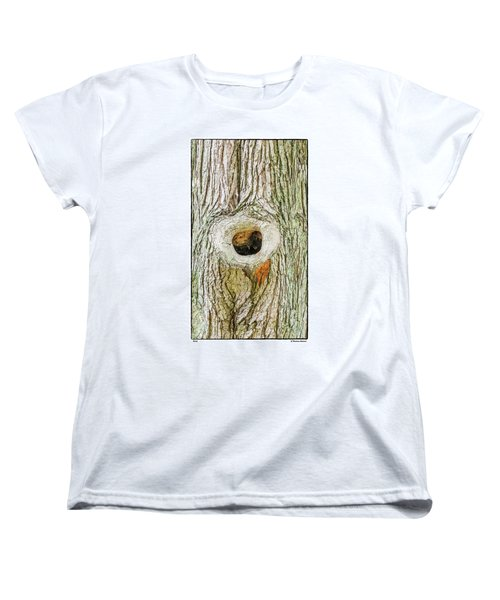 Women's T-Shirt (Standard Cut) featuring the photograph Knot by R Thomas Berner