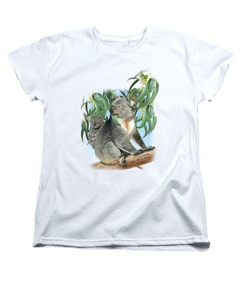 Koala Women's T-Shirt (Standard Cut) by Vladimir Timokhanov