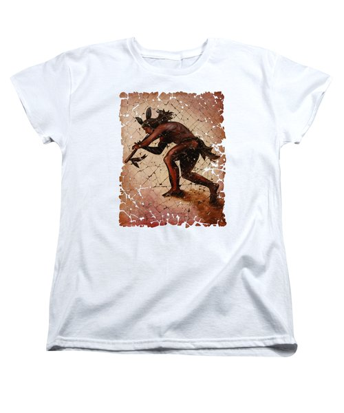 Kokopelli The Flute Player  Women's T-Shirt (Standard Cut)