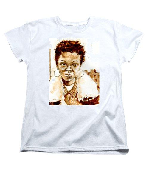 L Boogie Women's T-Shirt (Standard Cut) by Howard Barry