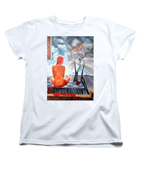 La Marcha Mas Larga Women's T-Shirt (Standard Cut) by Jorge L Martinez Camilleri