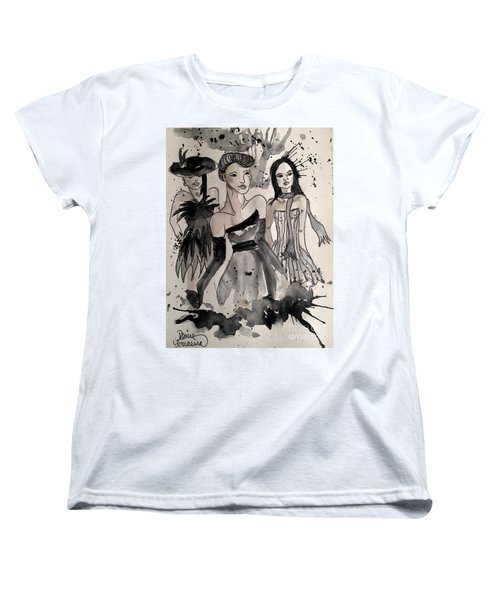 Ladies Galore Women's T-Shirt (Standard Cut) by Denise Tomasura