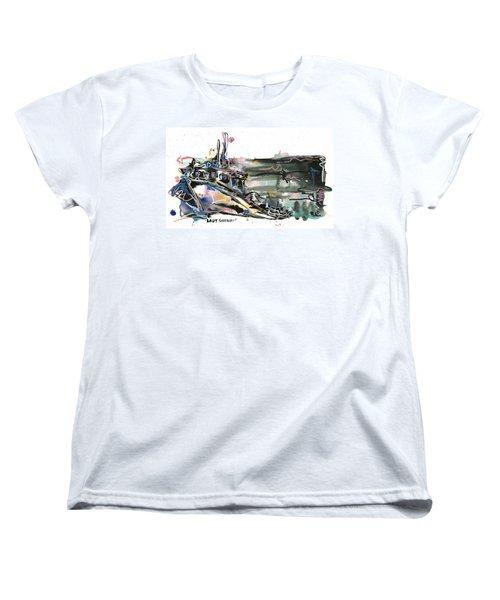 Women's T-Shirt (Standard Cut) featuring the painting Lady Sherbert by Robert Joyner