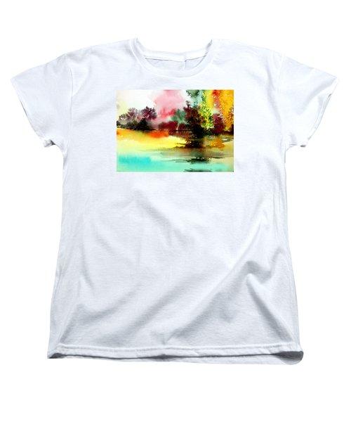 Lake In Colours Women's T-Shirt (Standard Cut)