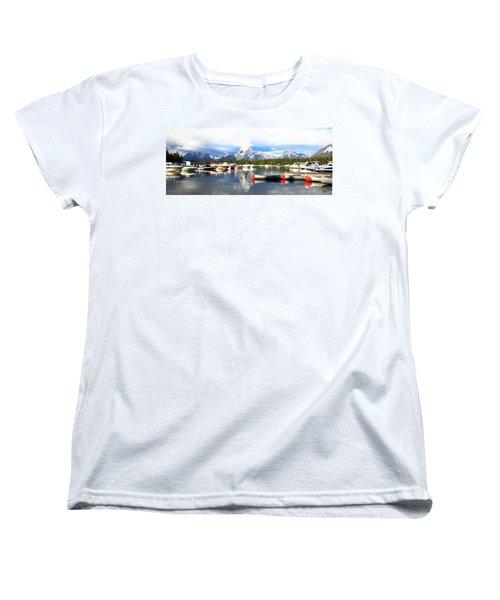Lake Jackson Women's T-Shirt (Standard Cut) by Lam Tran