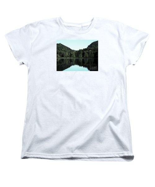 Lake Landscape Women's T-Shirt (Standard Cut) by France Laliberte
