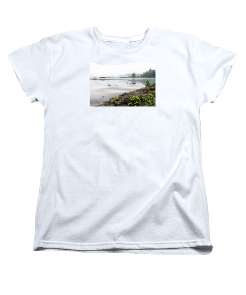 Lake Superior Women's T-Shirt (Standard Cut) by Ed Hall