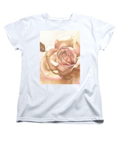 Lalique Rose Women's T-Shirt (Standard Cut) by Sandra Phryce-Jones