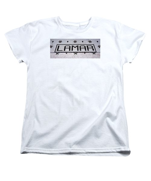 Women's T-Shirt (Standard Cut) featuring the photograph Lamar by Stephen Stookey