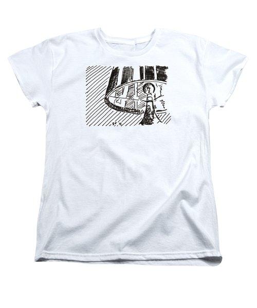 Lamp 1 2015 - Aceo Women's T-Shirt (Standard Cut) by Joseph A Langley