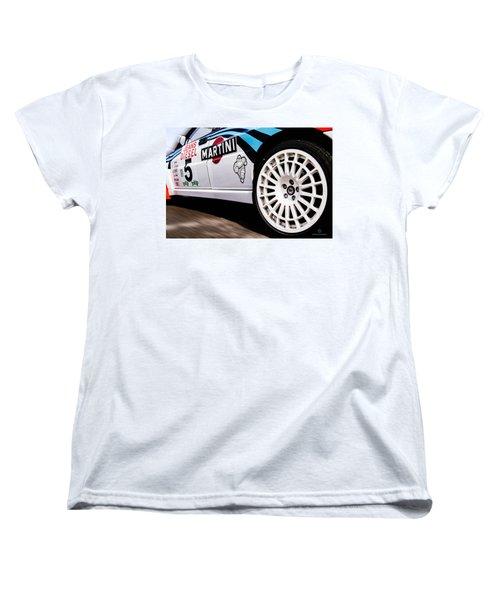 Lancia Delta Hf Integrale Women's T-Shirt (Standard Cut) by Cesare Bargiggia