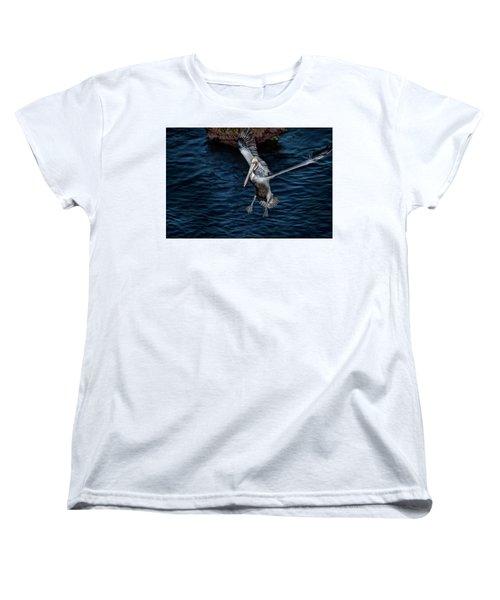 Landing 2 Women's T-Shirt (Standard Cut) by James David Phenicie
