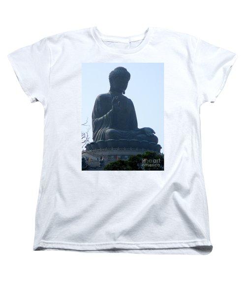 Women's T-Shirt (Standard Cut) featuring the photograph Lantau Island 49 by Randall Weidner