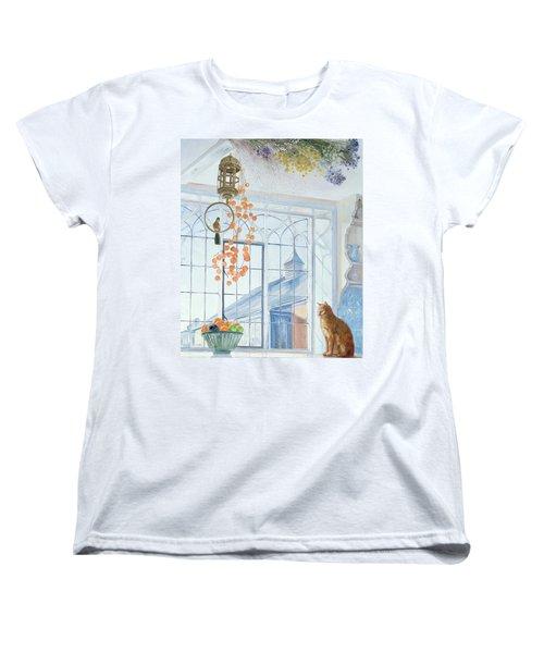 Lanterns Women's T-Shirt (Standard Cut) by Timothy Easton