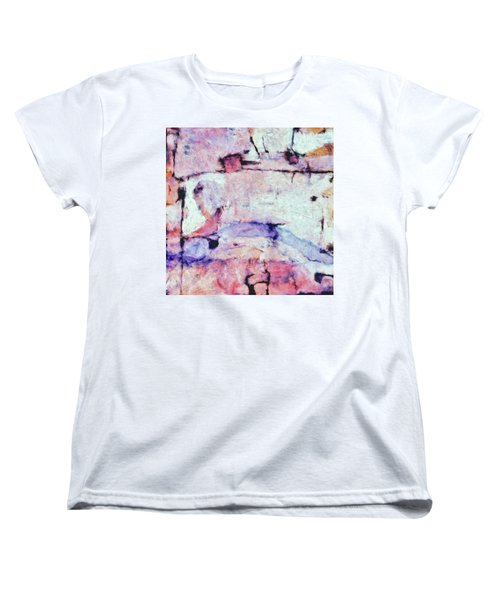 Women's T-Shirt (Standard Cut) featuring the painting Laredo by Dominic Piperata